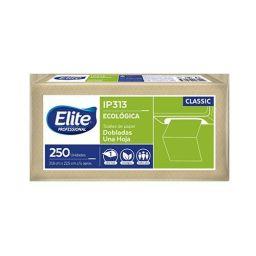 Toalla elite ecológica blanca 225 x 216mm 250 x 12 paquetes